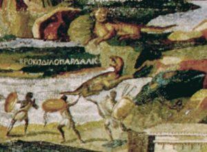 オーパーツのナイル・モザイク画に描かれた謎の生物とは?